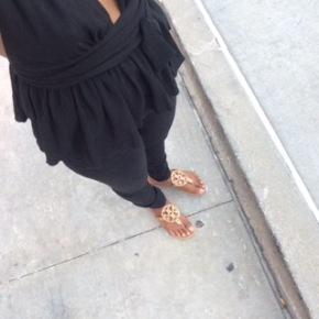 What I Wore: All BlackEverything